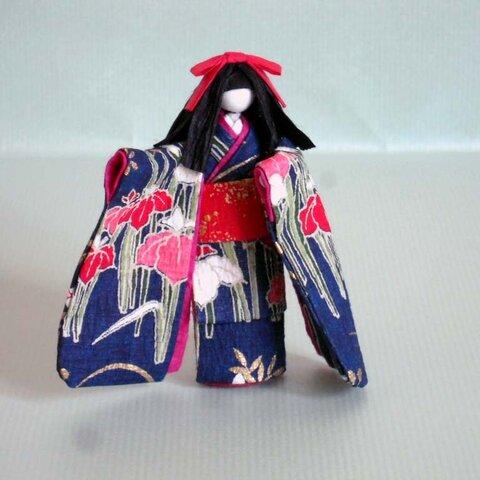 少女(ミニ)<立体和紙人形>