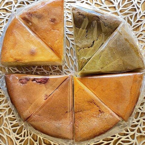 4種のチーズケーキ