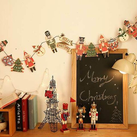 クリスマスガーランド【クリスマスの愉快な仲間達】(YX-11)