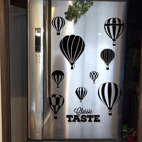 冷蔵庫に❤︎ウォールステッカー 気球