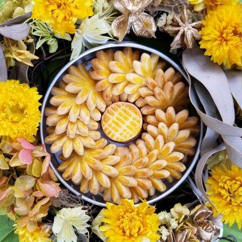 お花のクッキー缶(※3缶以上まとめてご注文の方はこちら)