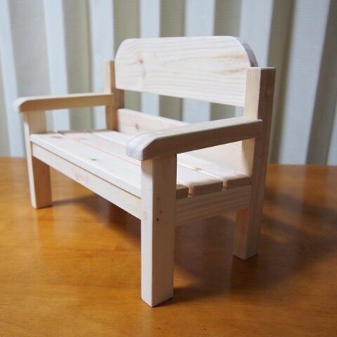 木製*ミニチュアベンチ