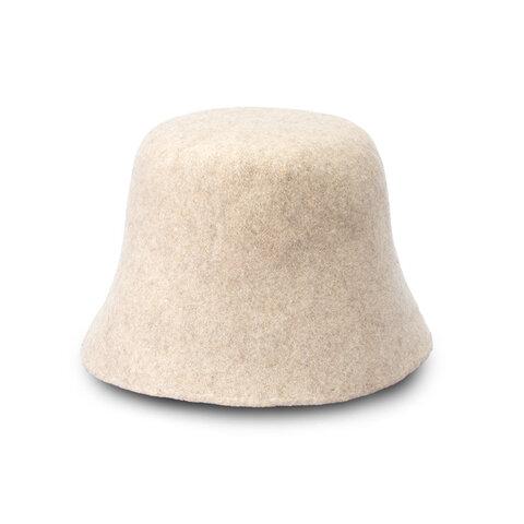 PINO ピノ バケットハット ウール 帽子 ホワイト [YO-BR005-WH]