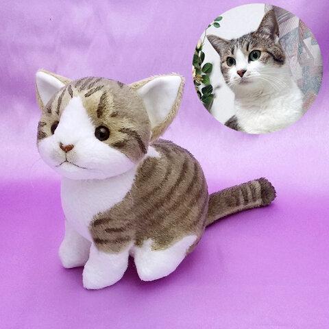 猫ぬいぐるみ「ねこにゃ」オーダーメイド 【受注製作】