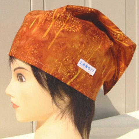 バティック 三角巾帽子 06 53cm~56cm