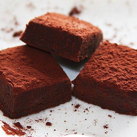 生ショコラ ビター<ベルギー製最高級チョコレート&オーガニック豆乳使用>