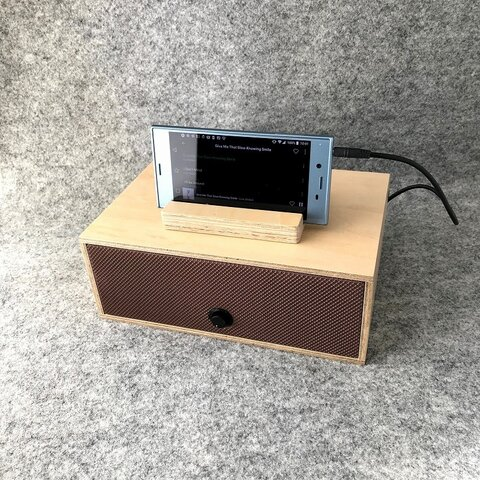 [simplicity Natural] スマホ、タブレット用スピーカー