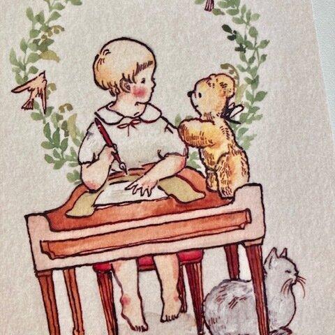 読み書きポストカード2枚セット