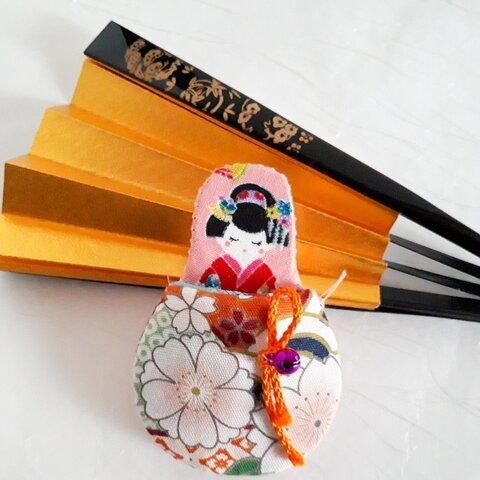 舞子さんの瓢箪型の刃先カバー✂️ (太い針ケース、ハサミカバー)