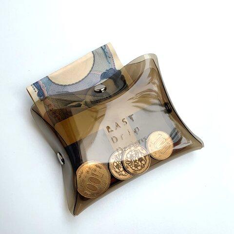 『送料無料』 全11色 【お好みのポジションから取り出せるユニーク設計のキューブマルチウォレット】 オールシーズン クリア PVC