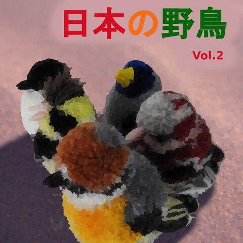 ぽんぽんで作る日本の野鳥シリーズvol.2