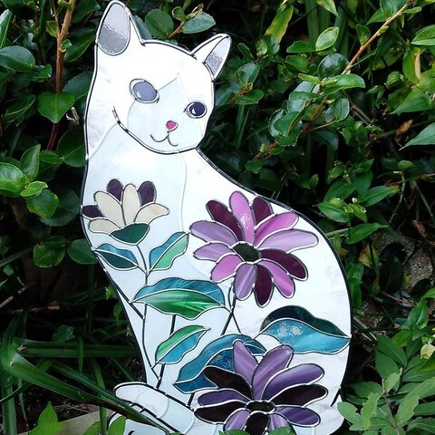 青い瞳の白猫(受注生産)