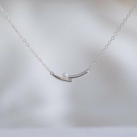 ✶再販✶lítið perla necklace2:ベビーパールネックレス silver925 シルバー