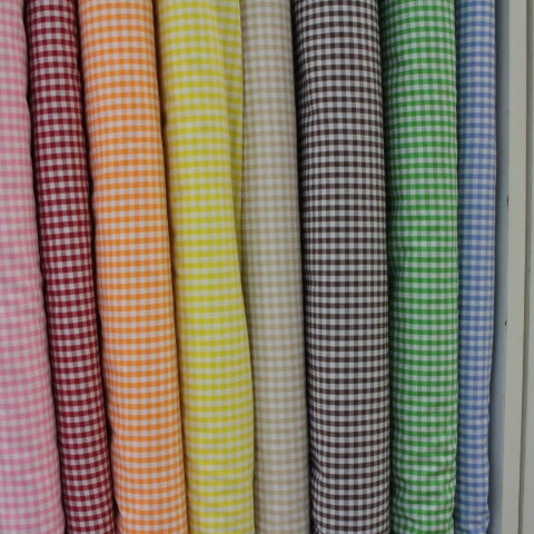 ギンガムチェック  いろいろ好きな色を選べます。110㎝幅×合計200㎝