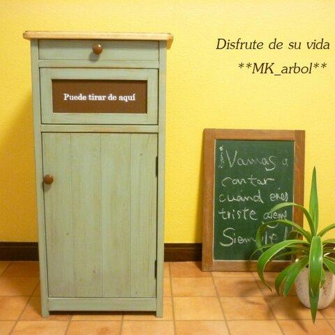 ゴミ箱 ピスタチオグリーン スペイン ダストボックス