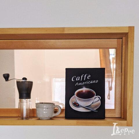 〈コーヒー〉ファブリックパネル