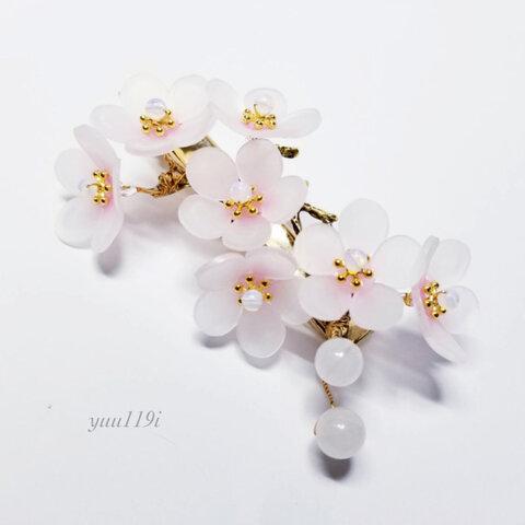 *梅の花のヘアクリップ*