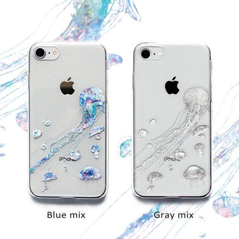 iPhone13mini ケース 005 クラゲ(カラーver) スマホケース Android