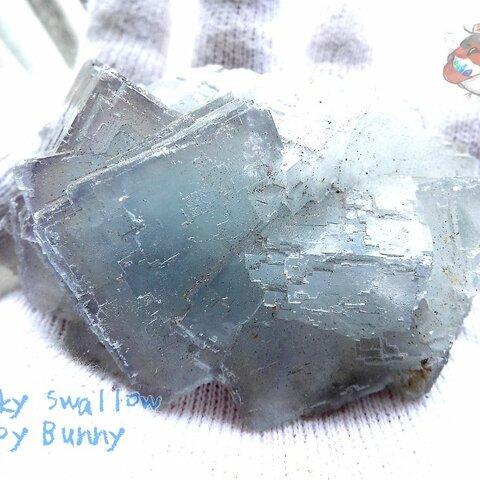 ⚒️ フローライトクラスター標本 結晶 原石 標本 コレクション用 No.3028