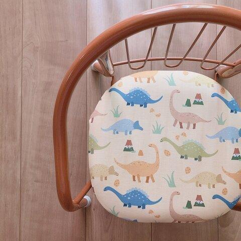 豆椅子 ベビーチェア 出産祝い ハーフバースデー 名入れ『ダイナソー』