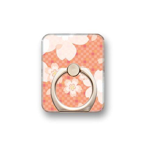 桜18 スマホリング