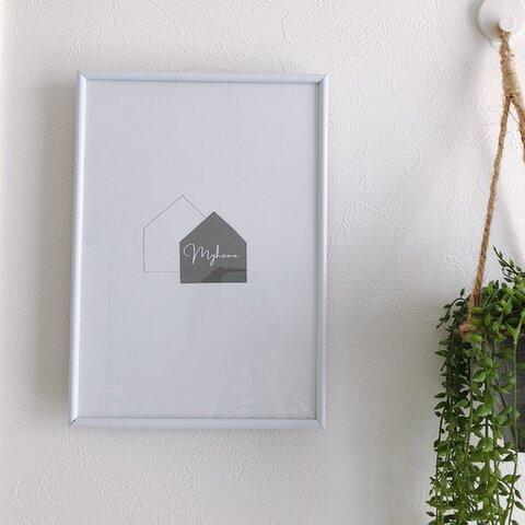 【送料無料】インテリアポスター(My home)
