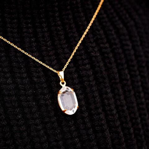 ヴィンテージスワロフスキーのペンダント crystal