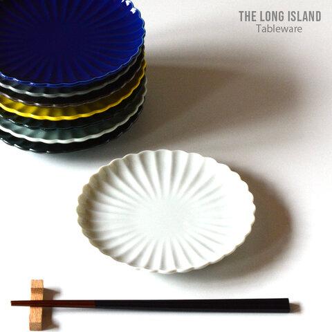 輪花 リンカ 花皿 15.5cm ホワイト ケーキ皿 パン皿 食器 花型 /r146wh