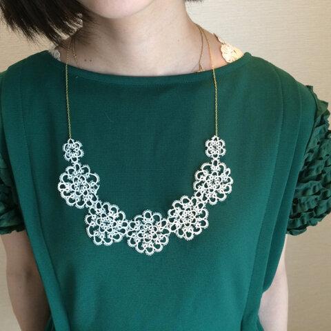 再販⁑elfin lace necklace ⁑