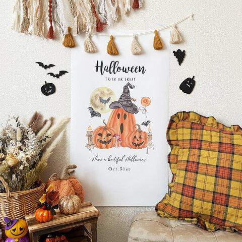 再再再再々再販..♡折り目なし♡【全4種類】ハロウィン タペストリー かぼちゃ 撮影アイテム