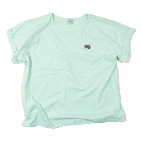 ハリネズミの針山 刺繍Tシャツ レディース フリー Tcollector