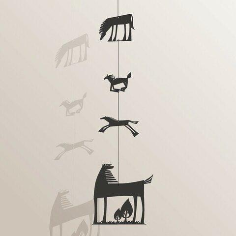 kirie-hanging---Horse(ペーパーオーナメント・ウマ)