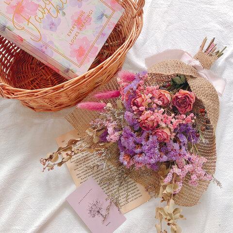 new♡小花の秋スワッグC💐【送料込】