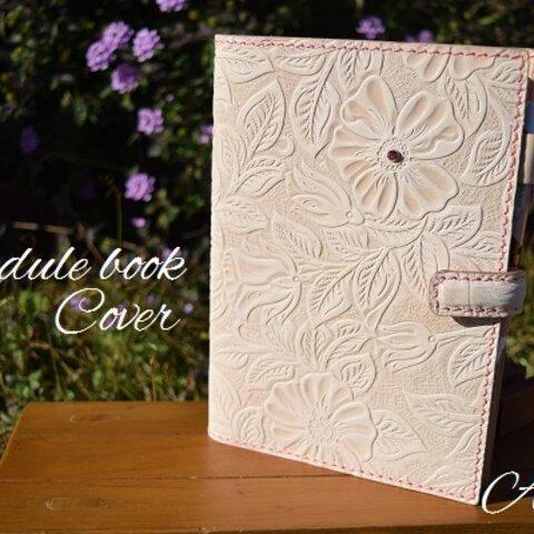 花柄手帳カバー A5サイズ