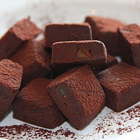 生ショコラ ビターオレンジ<ベルギー製最高級ショコラ&オーガニック豆乳使用>