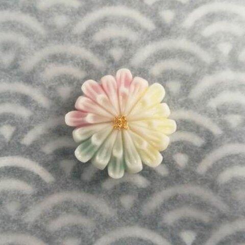 【選べる金具】練りきりのポニーフック・帯留め(花火)