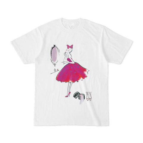ガーリーメイクアップ オリジナルTシャツ 【Jojo Yan】