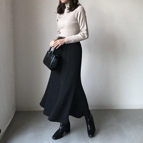 リニューアル!大人なソフトマーメイドラインでスマートなスカート 普段使いも◎【ソフトマーメイドスカート2】