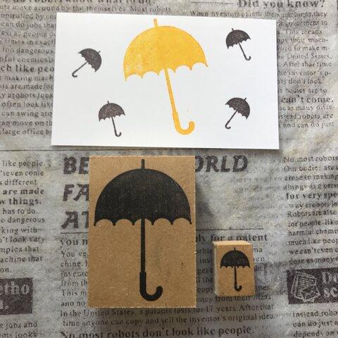 ☂️*̣̩⋆̩*雨傘*大&小 2点セット☂️*̣̩⋆̩*スタンプ はんこ