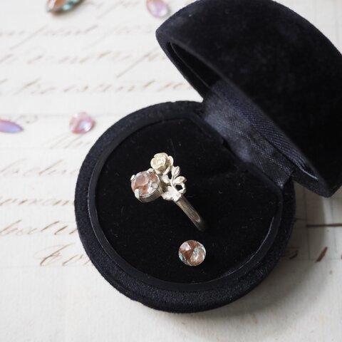 「PleasureⅢ」薔薇の指輪(ヴィンテージサフィレット)