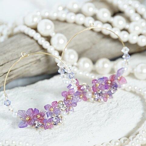 紫陽花✴︎hoop bijou