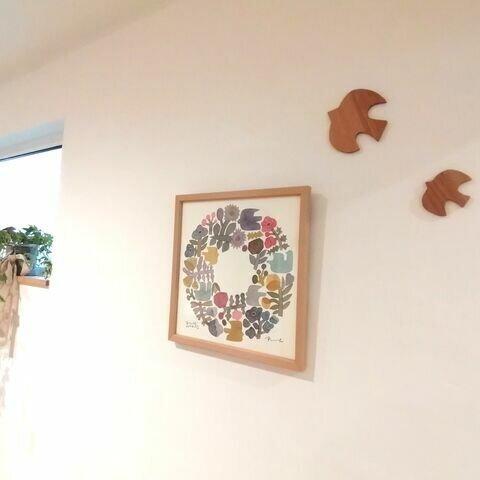 🔶北欧風 鳥🔶 壁がお空に変身‼︎
