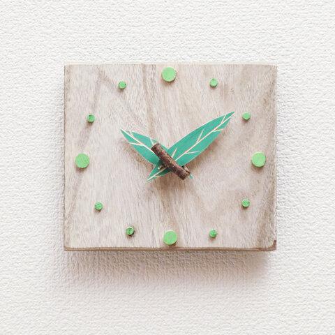 木の掛時計