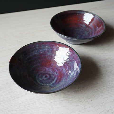 紫雲釉小鉢