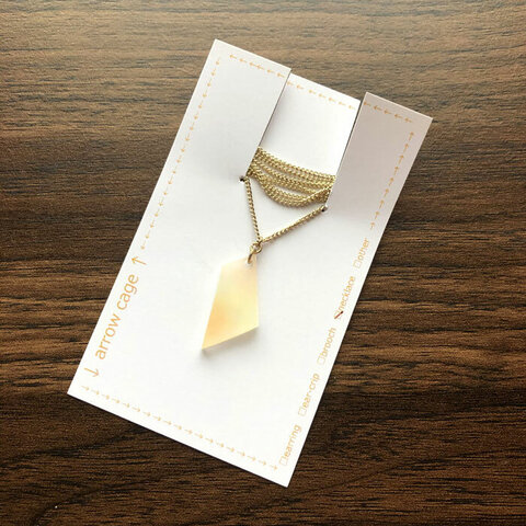 琥珀糖の夢 no.12 ネックレス