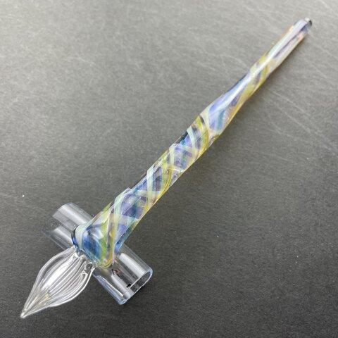 透明ニュアンスのガラスペン(15)
