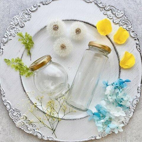 【数量限定】Fairy Seeds たんぽぽのハーバリウム 花材+ボトル2種セット