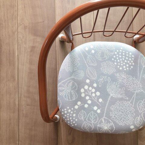 豆椅子 ベビーチェア 出産祝い ハーフバースデー 名入れ『プランツグレー』