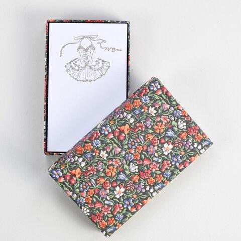 Box入りアソートカード  GOLD  Flower柄 5