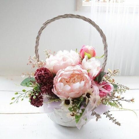 フラワーアレンジメント 枯れないお花 先方様への直送OK 敬老の日 ギフト 造花